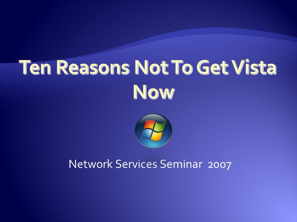 Network Services Seminar 2007