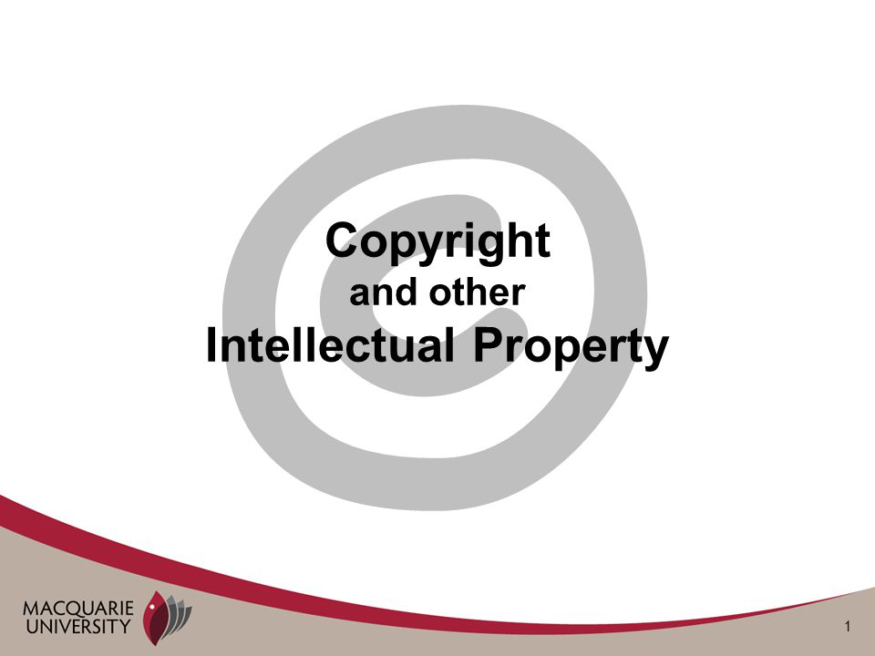 2 What is intellectual property.