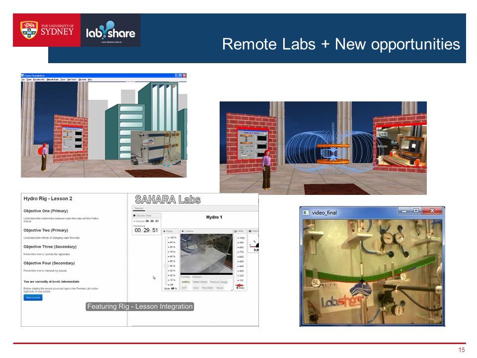 Remote Labs + New opportunities 15