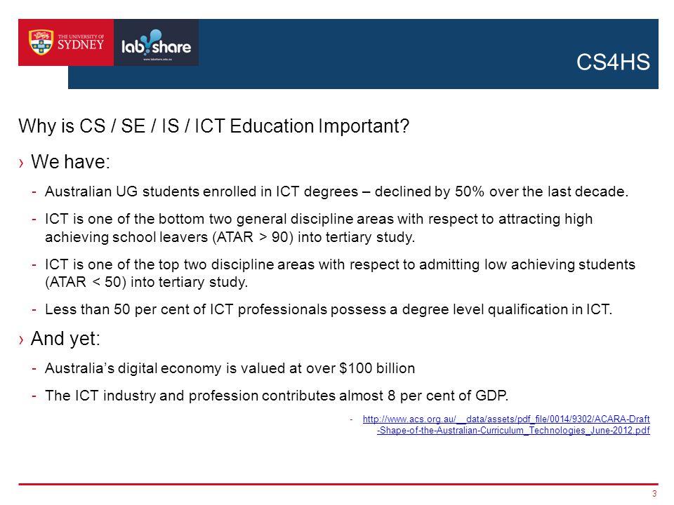 CS4HS ›Education -Teacher development: e.g.