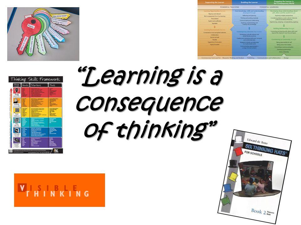 New thinking...? Any new insights... I think______ because.........