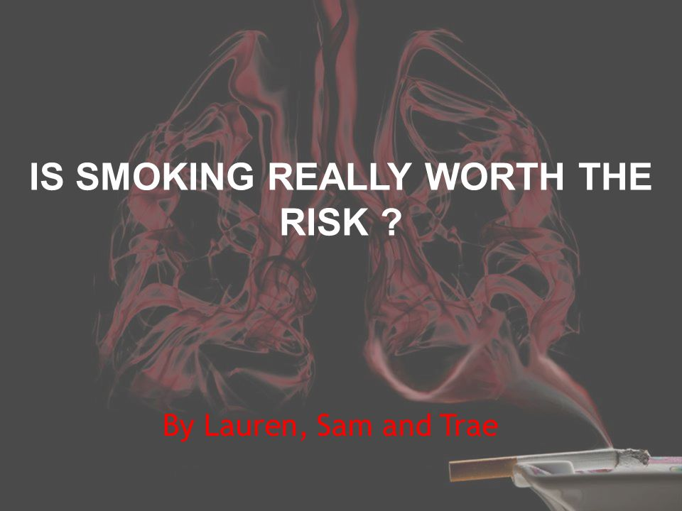 The purpose of this report is to inform our audience of the number of smokers in Australia and the risks involved.