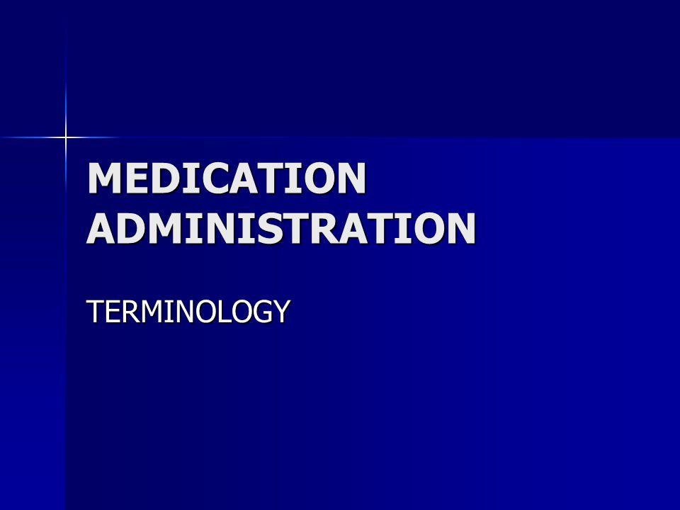 DOCUMENTATION Date medication ordered.Date medication ordered. Times for medication.Times for medication. Reasons for use of medication.Reasons for us