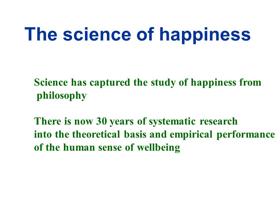 Quality of Life [wellbeing] Objective Wellbeing Subjective Wellbeing [happiness] Objective Conditions e.g.