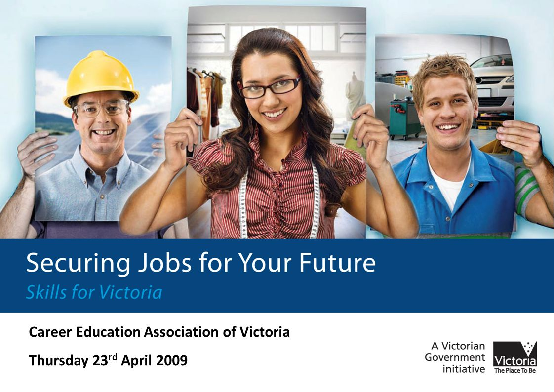 Overview Introduction to Securing Jobs for Your Future – Skills for Victoria What are skill gaps and skill shortages.