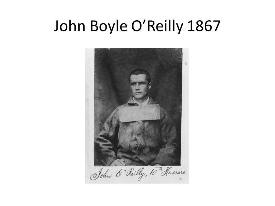 John Boyle O'Reilly 1867