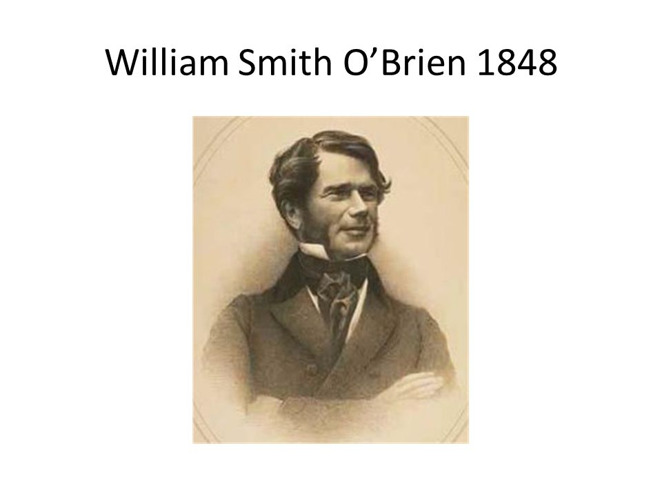 William Smith O'Brien 1848