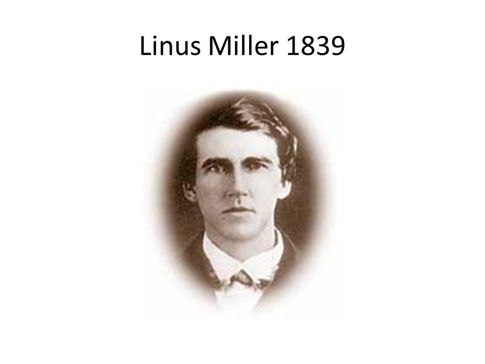 Linus Miller 1839
