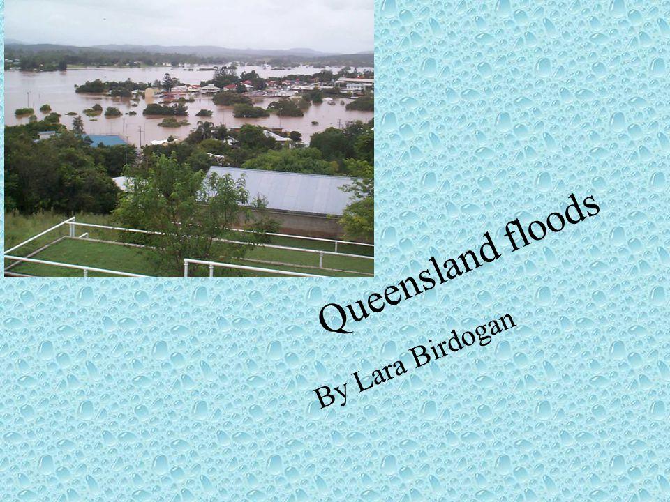 Queensland floods By Lara Birdogan