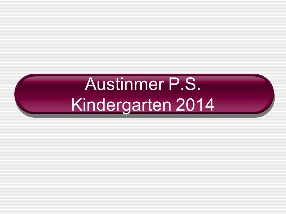 Austinmer P.S. Kindergarten 2014