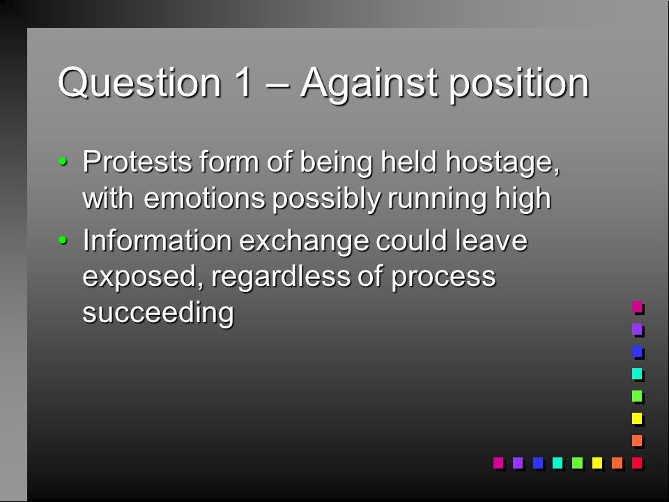 Question 2 Instead of seeking change through government legislation, activists target specific corporations through boycott and protests. Instead of seeking change through government legislation, activists target specific corporations through boycott and protests. Are such activities forAre such activities for (1) environmental issues?(1) environmental issues.