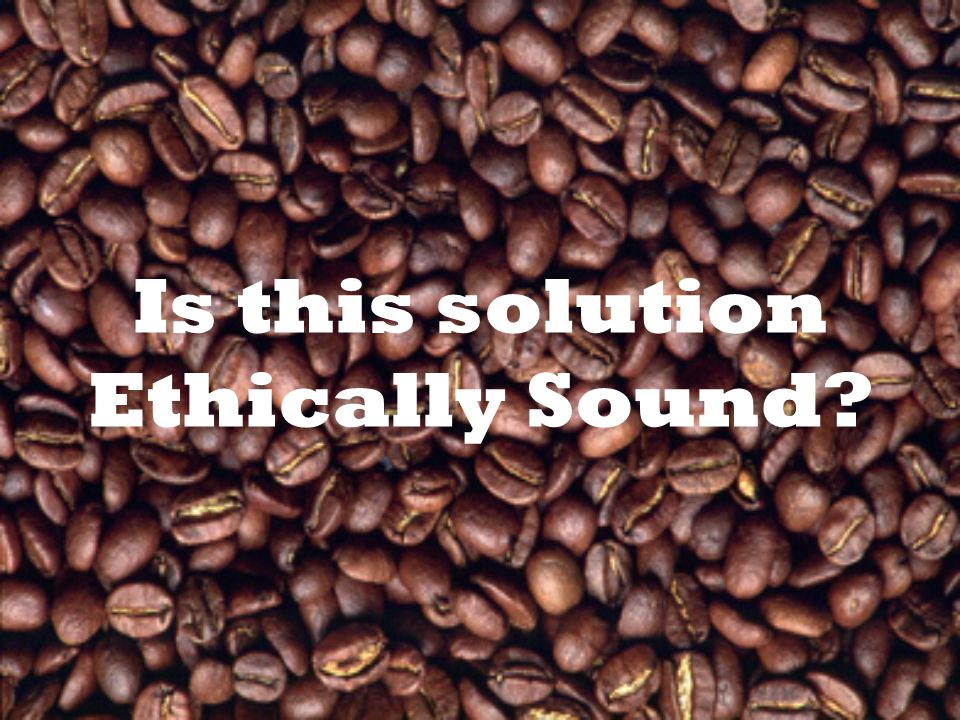 Is this solution Ethically Sound?