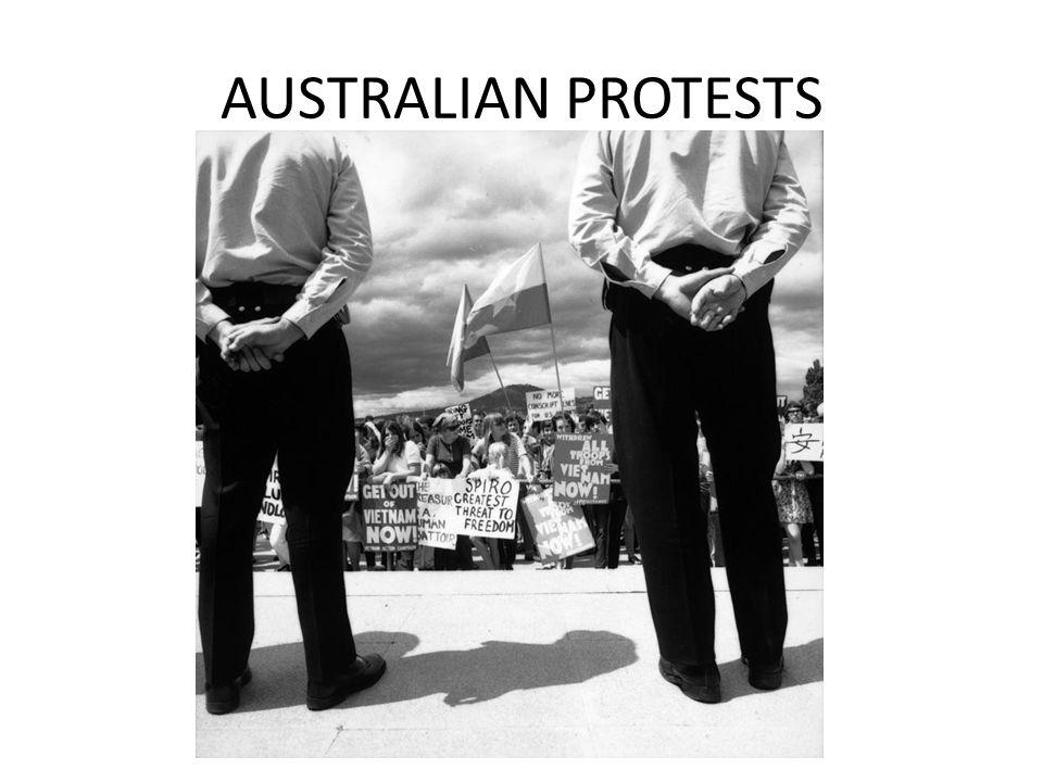 AUSTRALIAN PROTESTS