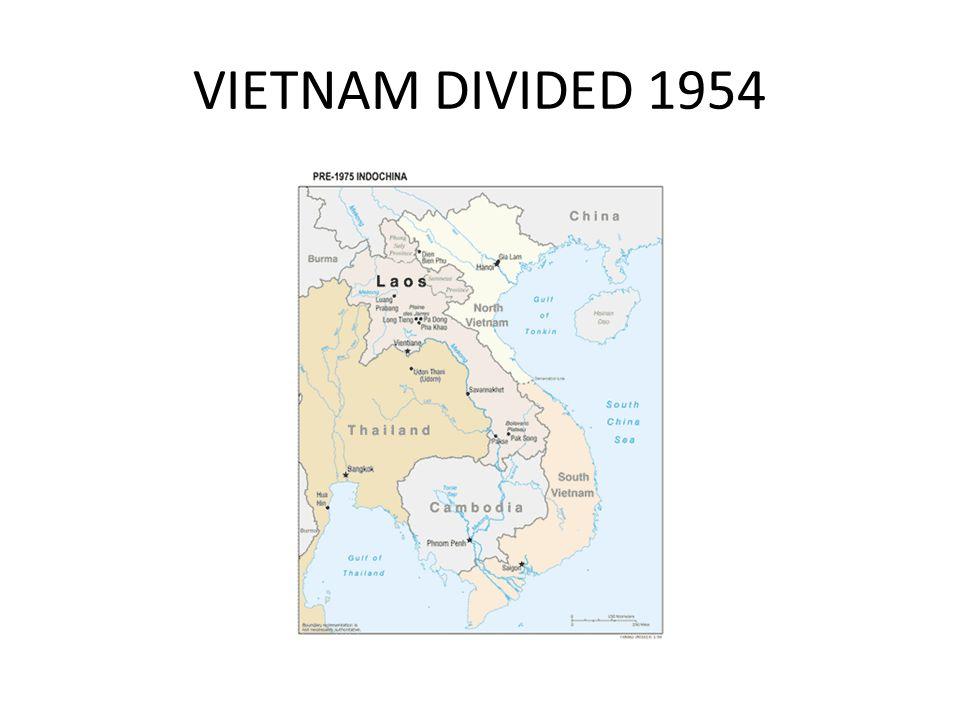 VIETNAM DIVIDED 1954