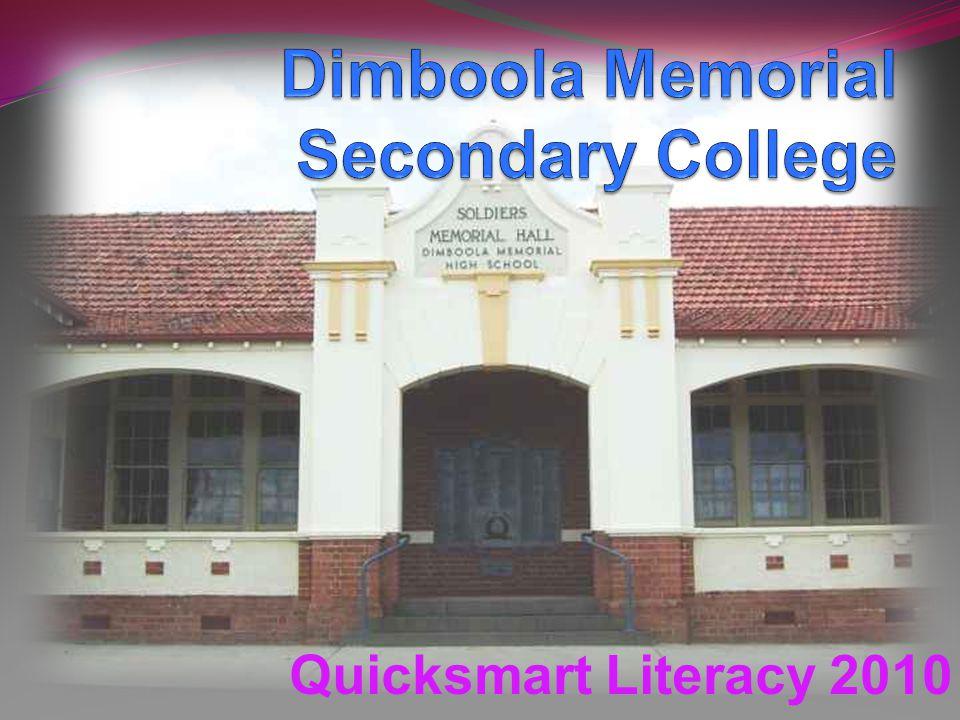 Quicksmart Literacy 2010