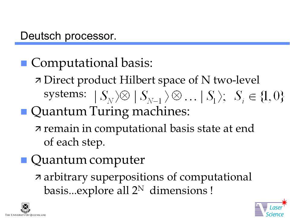 Deutsch processor.