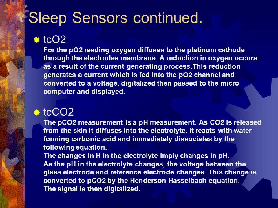 Sleep Sensors continued.
