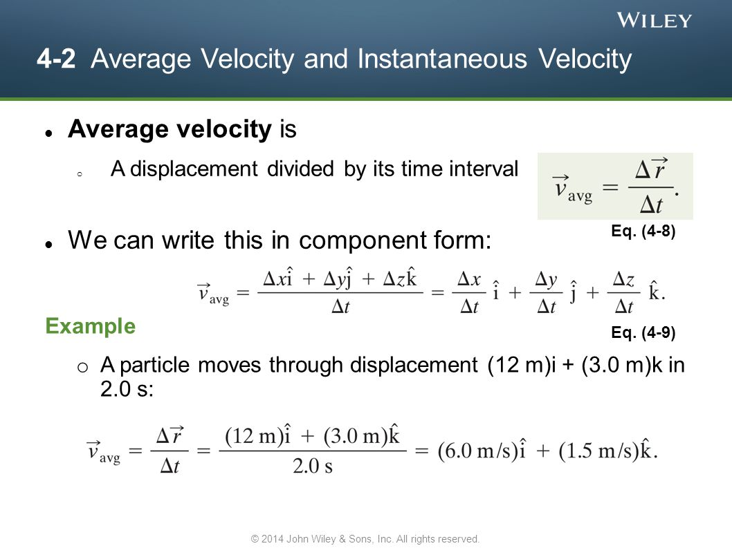 4-6 Relative Motion in One Dimension Positions in different frames are related by: Taking the derivative, we see velocities are related by: But accelerations (for non-accelerating reference frames, a BA = 0) are related by Eq.