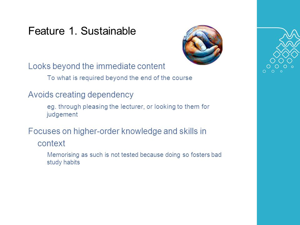 AUSTRALIAN LEARNING AND TEACHING COUNCIL Feature 1.