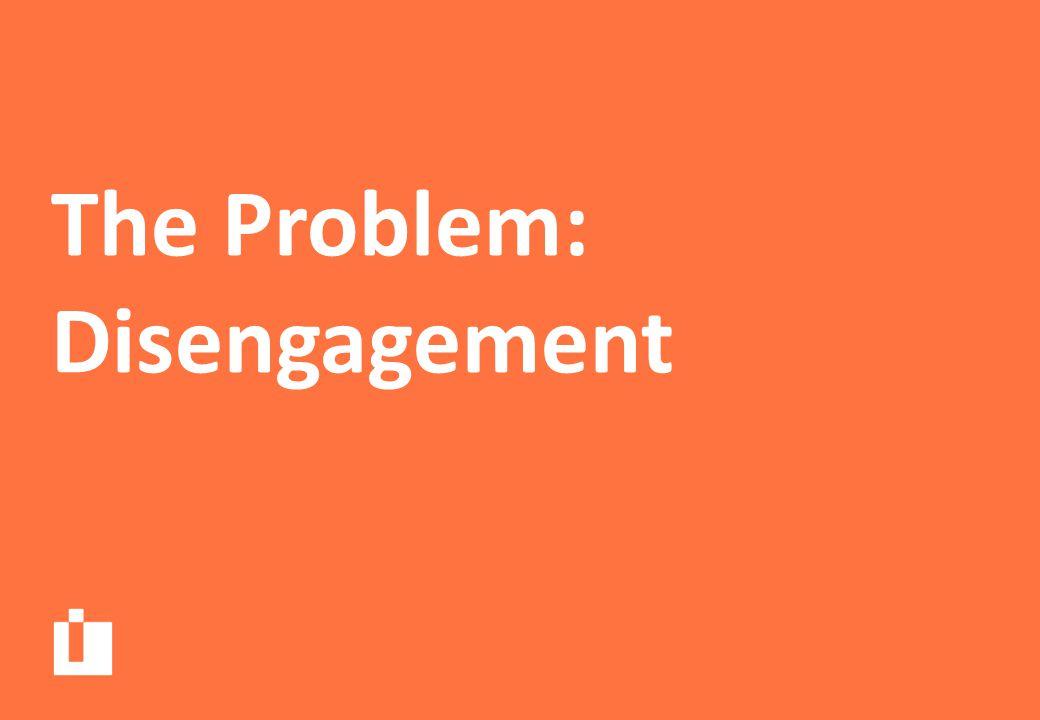 Disengagement is a bigger problem for the most disadvantaged children