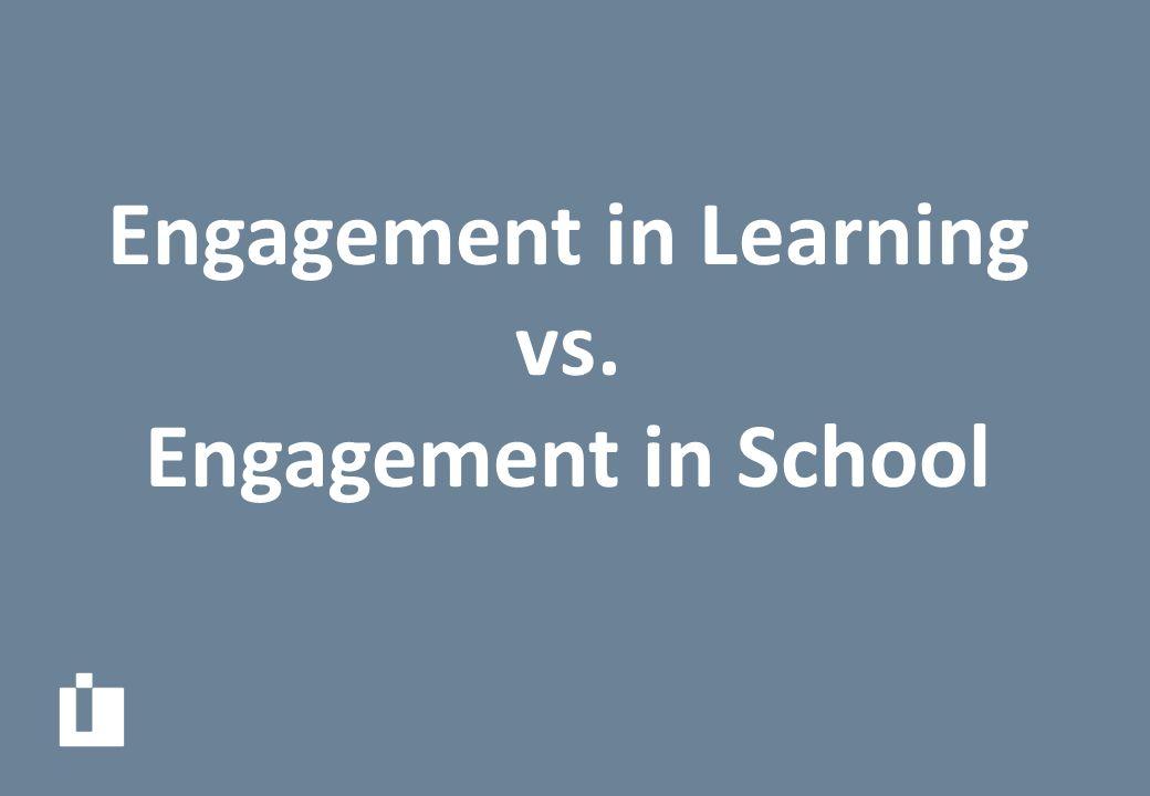 Engagement in School: Attendance Attentiveness Conformity Exam Results Behaviour