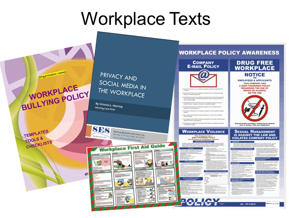 Workplace Texts