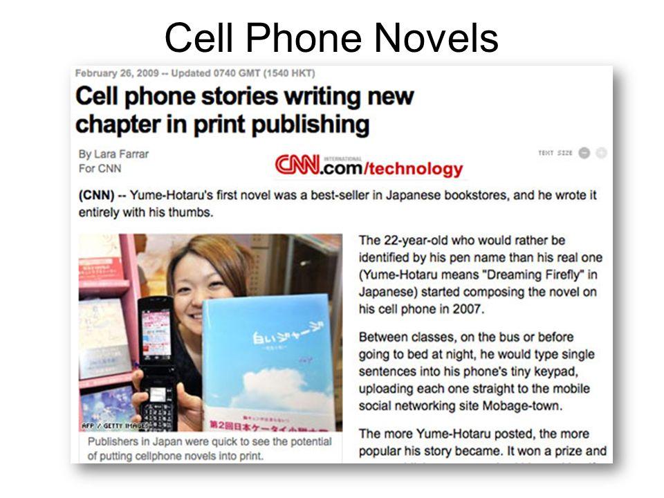 Cell Phone Novels