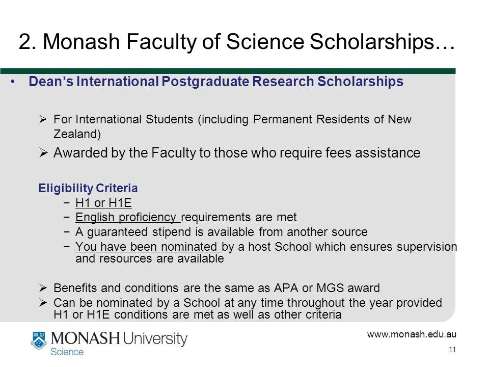 www.monash.edu.au 11 2.