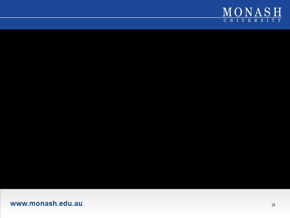 www.monash.edu.au 28