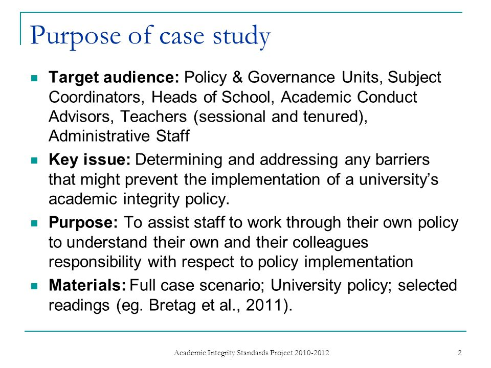 Our research Analysis of the academic integrity policies of 39 Australian universities found:  Exemplary policies displayed 5 key elements ease of Access educative Approach shared Responsibility Detail regarding types and range of breaches, processes and outcomes Support systems to facilitate the enactment of the policy  Many university policies do not adequately address one or more of these key elements.