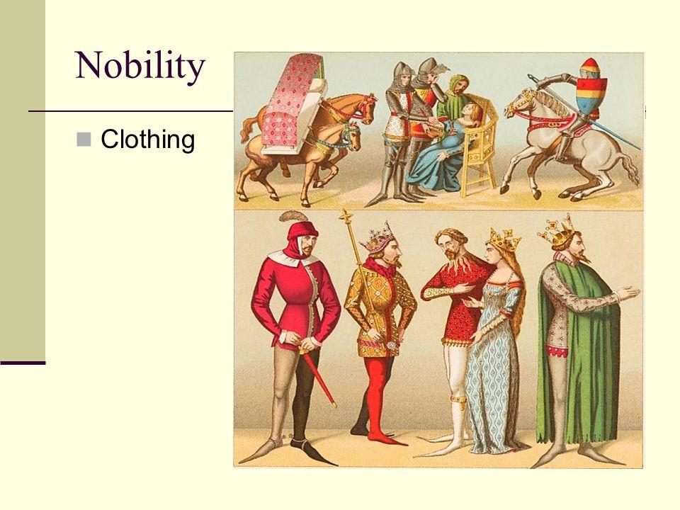 Nobility Clothing