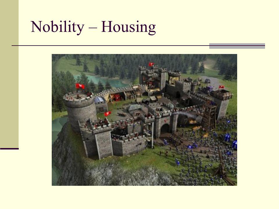 Nobility – Housing