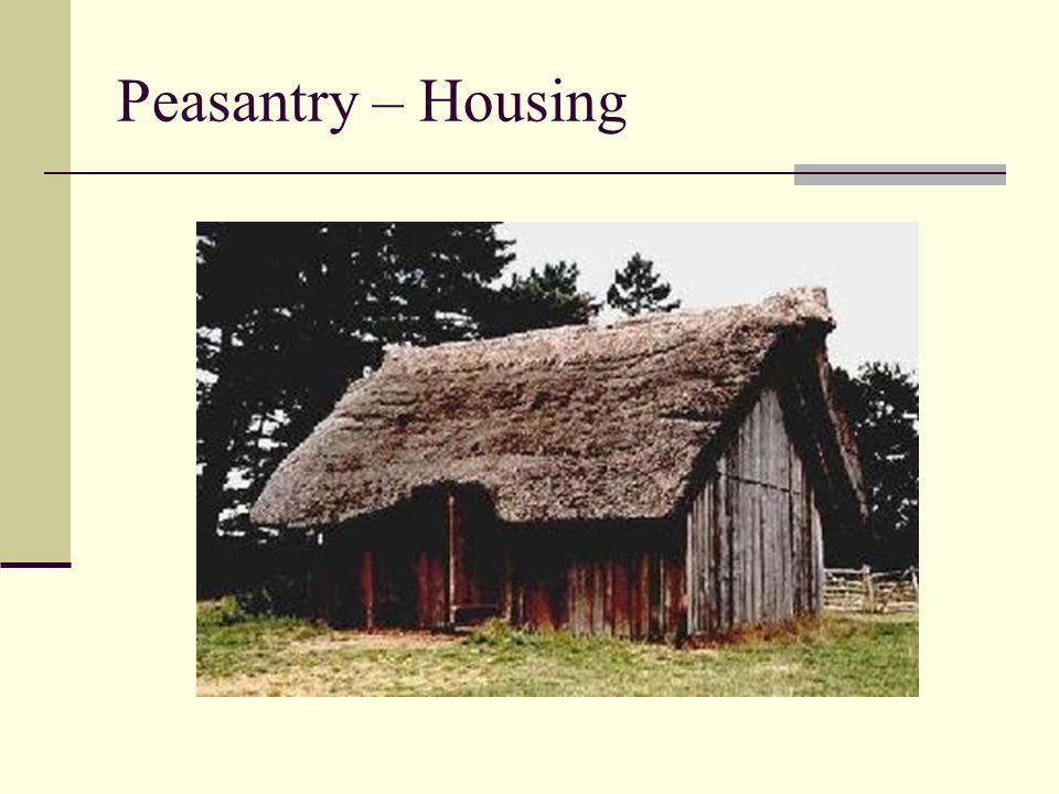 Peasantry – Housing