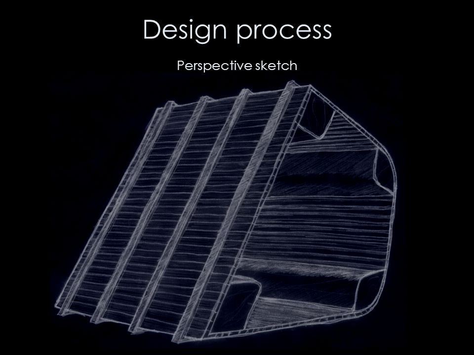 Design process Perspective sketch