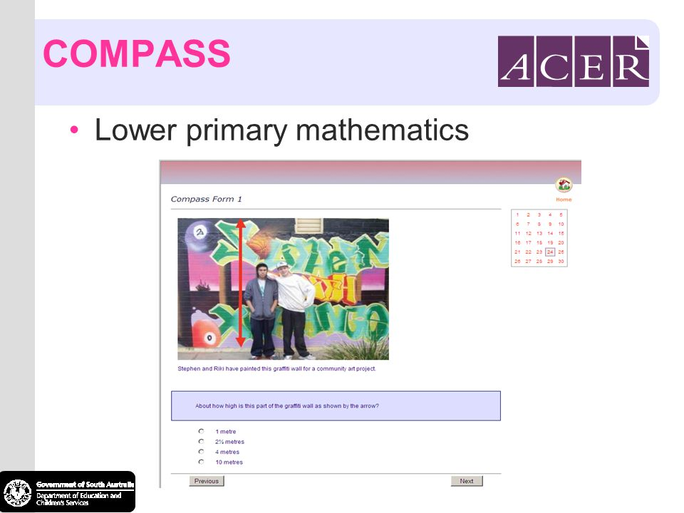 COMPASS Lower primary mathematics