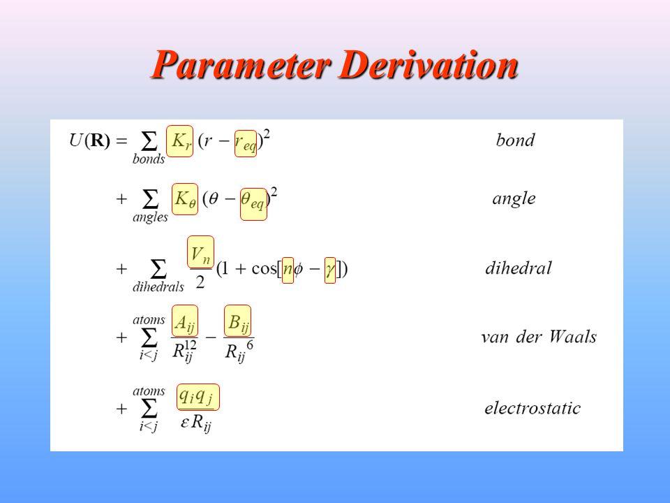 Parameter Derivation
