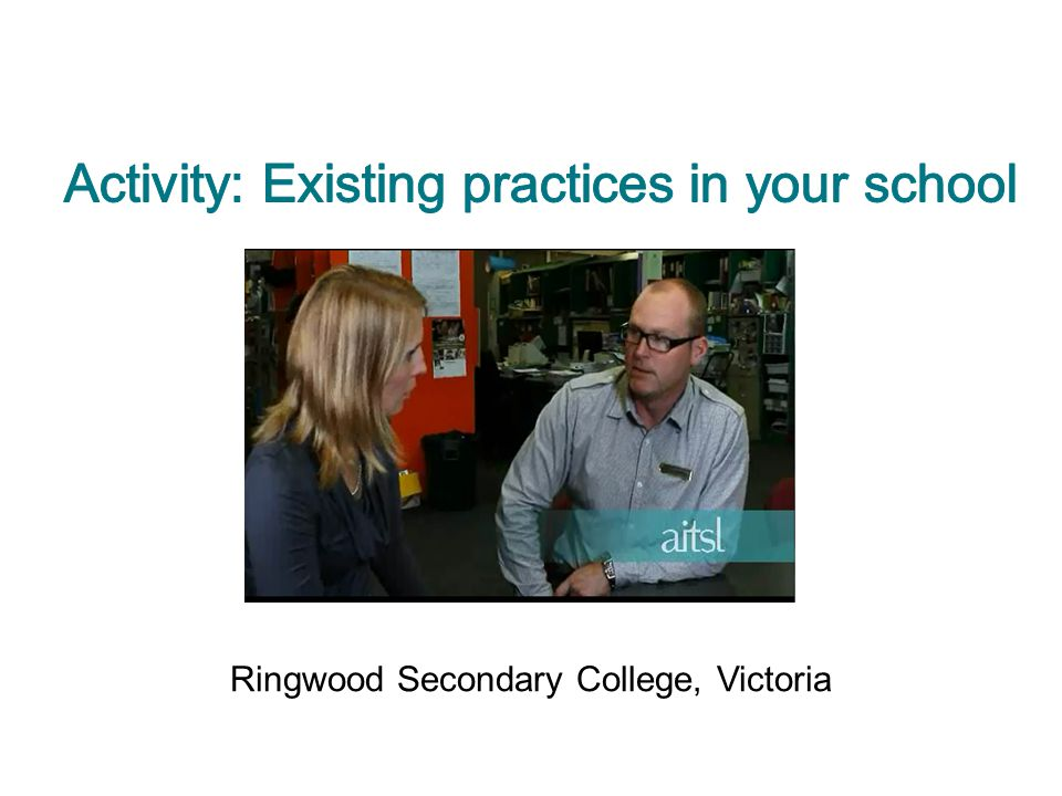 Ringwood Secondary College, Victoria