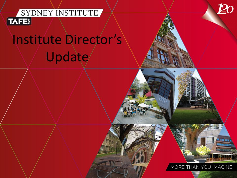 Institute Director's Update