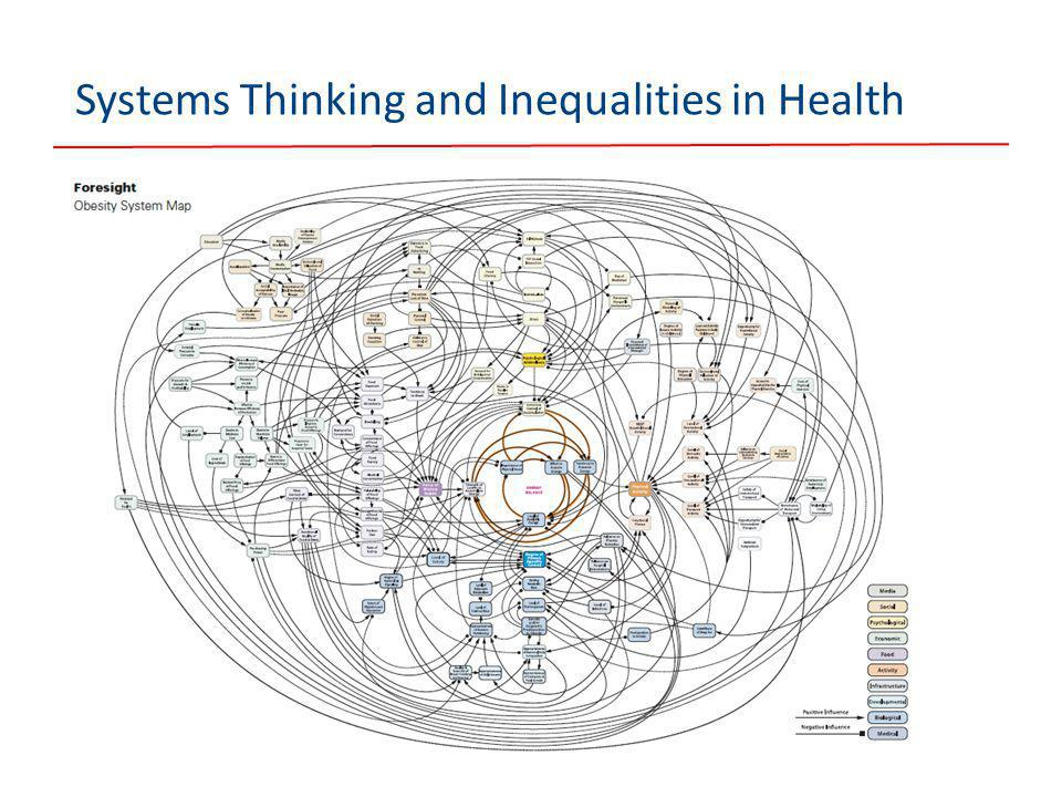Systems Thinking and Inequalities in Health
