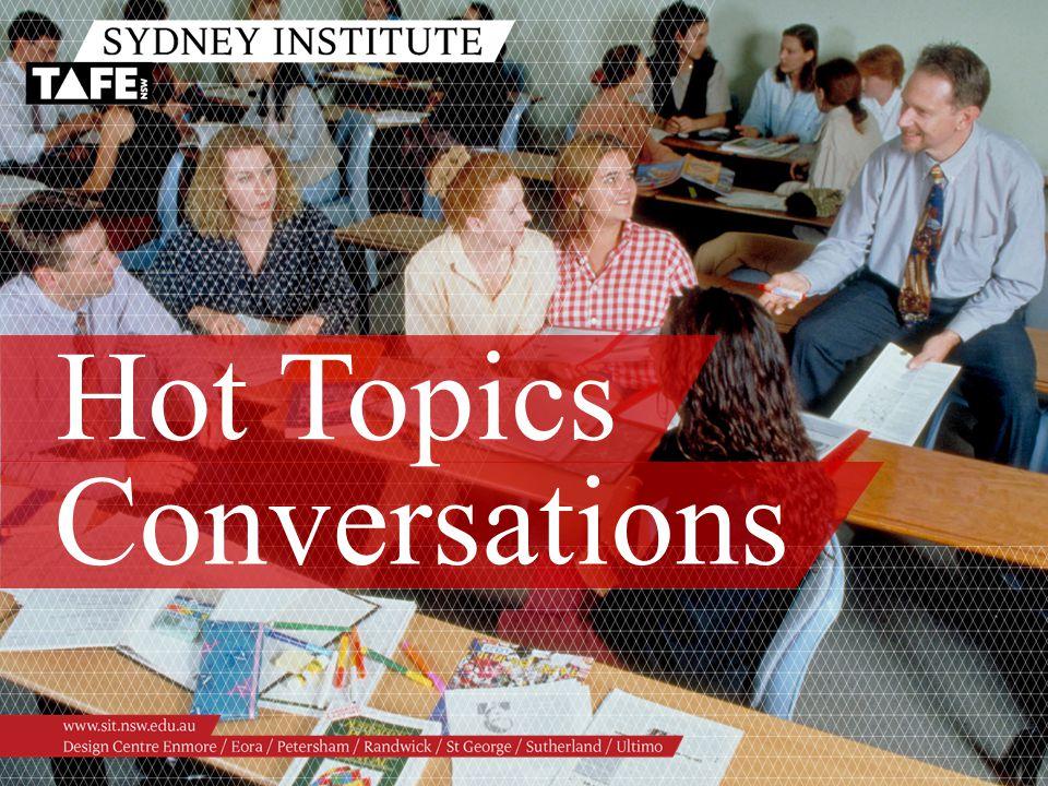 Hot Topics Conversations