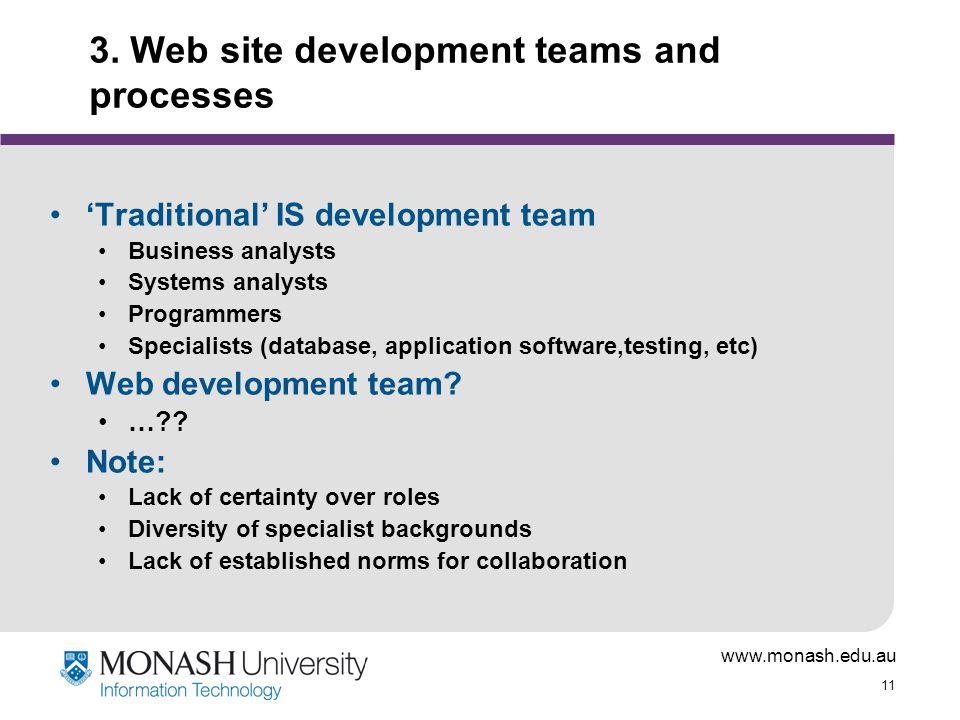 www.monash.edu.au 11 3.