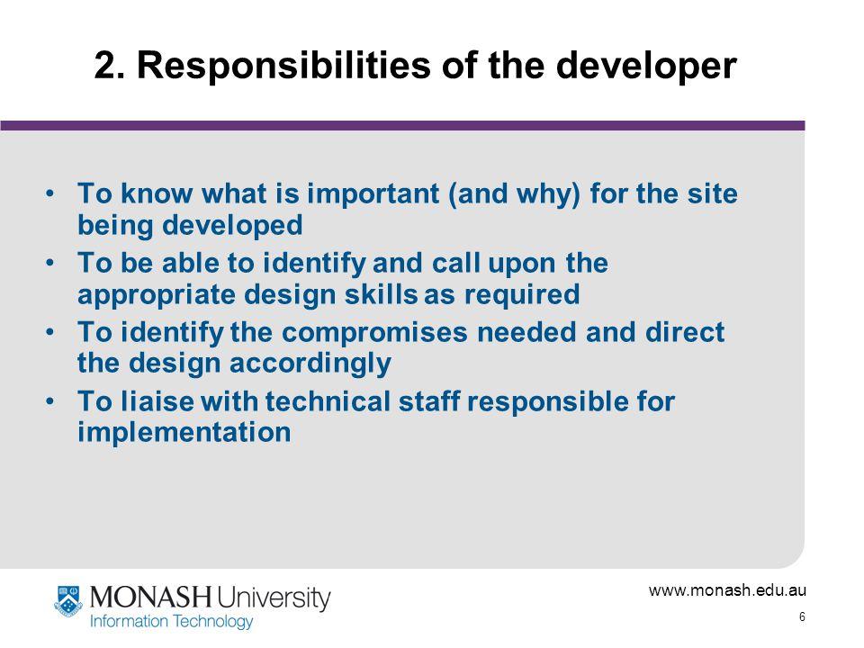www.monash.edu.au 6 2.