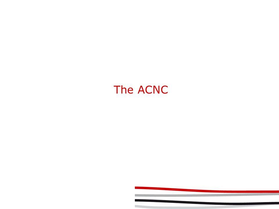 The ACNC