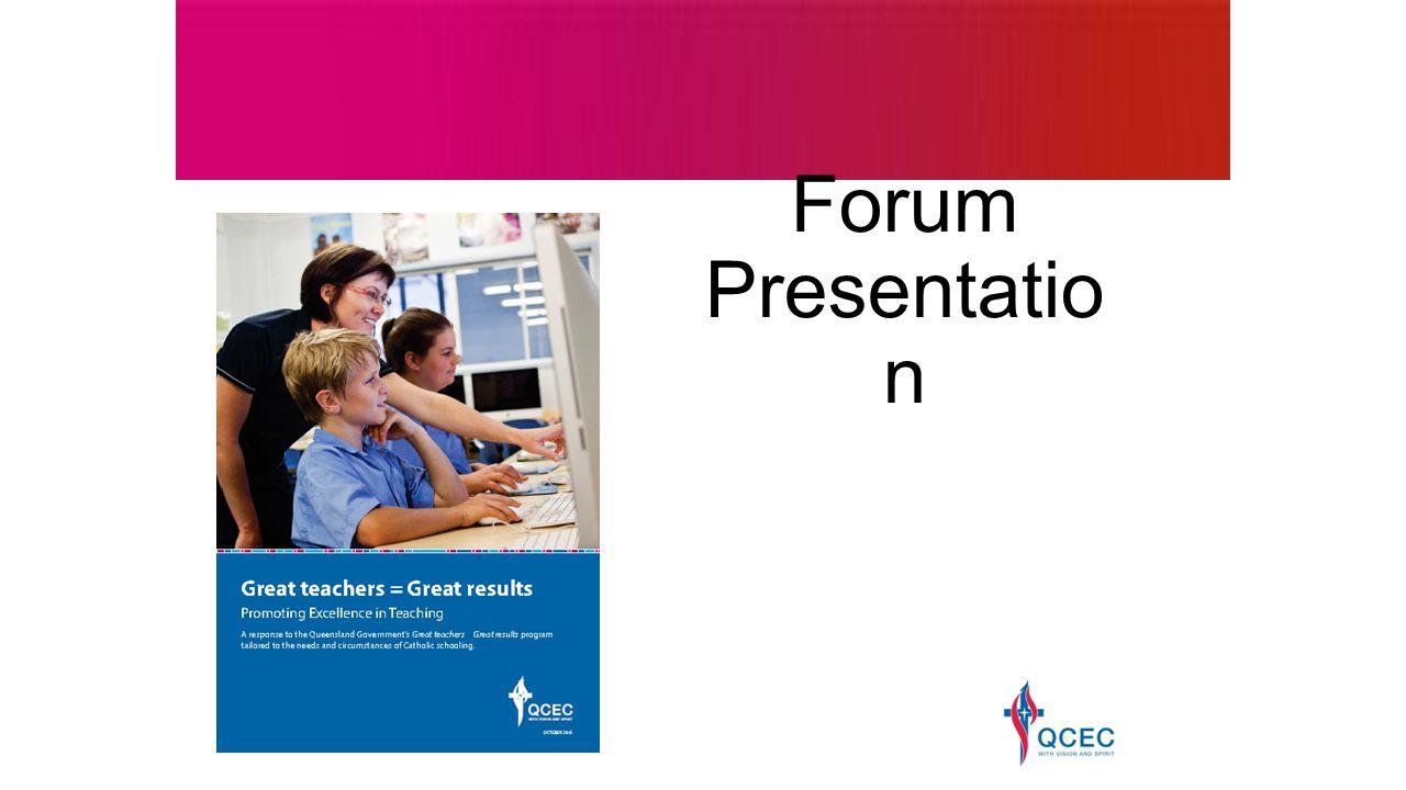 Forum Presentatio n