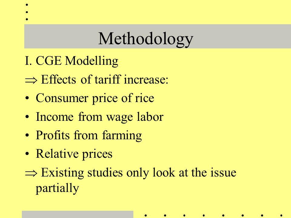 Methodology (continued) II.