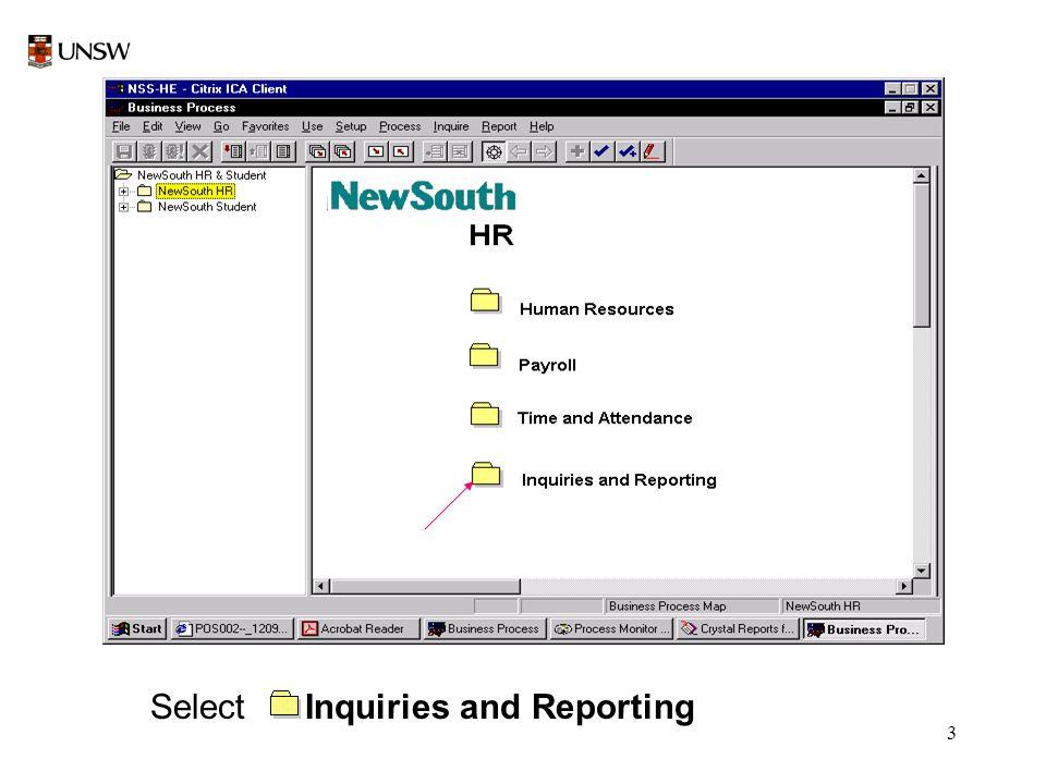 4 Select Inquiries