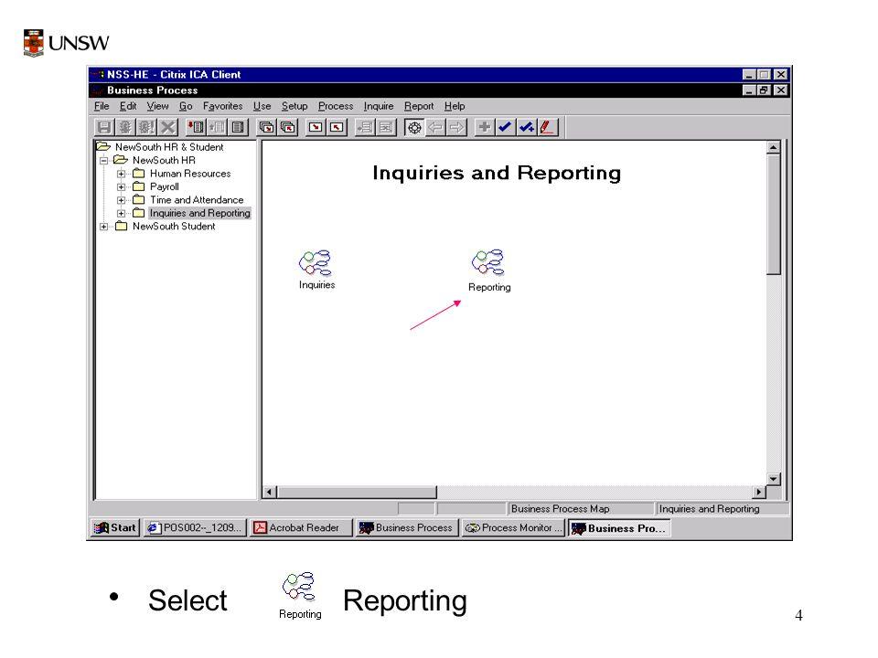 4 Select Reporting