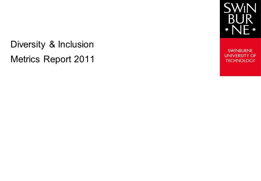 Diversity & Inclusion Metrics Report 2011