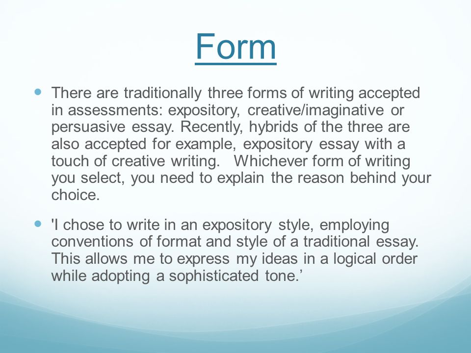 Language When writing, you choose particular words and phrases to illustrate your ideas.