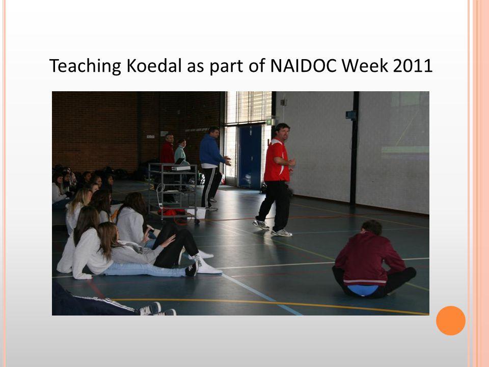 Teaching Koedal as part of NAIDOC Week 2011
